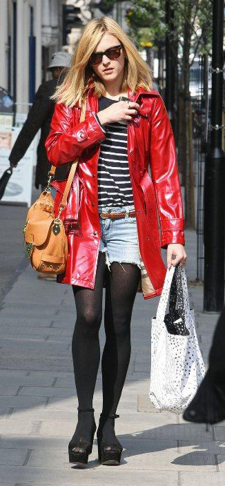 blue-light-shorts-cutoff-denim-belt-black-sweater-stripe-red-jacket-coat-cognac-bag-black-tights-black-shoe-sandalw-sun-fearnecotton-fall-winter-blonde-lunch.jpg