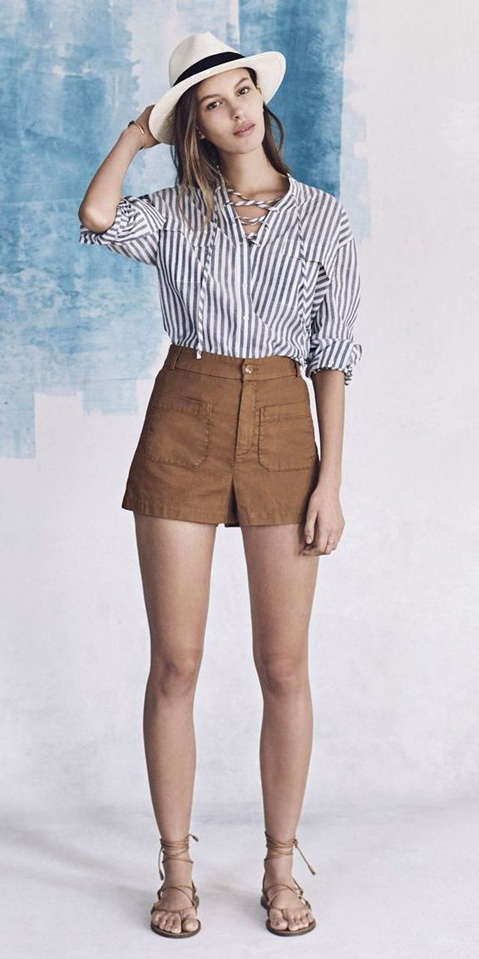 o-camel-shorts-grayd-top-stripe-hat-panama-tan-shoe-sandals-howtowear-fashion-style-outfit-hairr-spring-summer-weekend.jpg