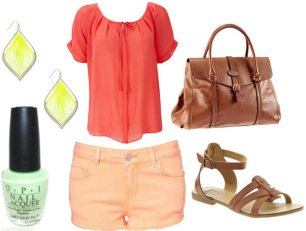o-peach-shorts-orange-top-blouse-cognac-shoe-sandals-nail-earrings-cognac-bag-howtowear-fashion-style-spring-summer-outfit-weekend.jpg