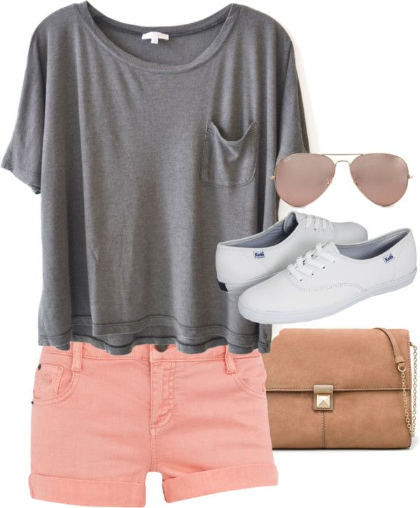o-peach-shorts-grayl-tee-white-shoe-sneakers-tan-bag-sun-denim-howtowear-fashion-style-spring-summer-outfit-weekend.jpg