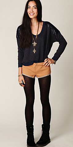 o-tan-shorts-black-sweater-necklace-pend-freepeople-howtowear-fashion-style-outfit-fall-winter-black-shoe-booties-black-tights-brun-weekend.jpg