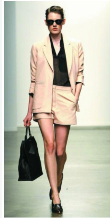 o-tan-shorts-black-top-blouse-tan-jacket-blazer-suit-howtowear-fashion-style-outfit-spring-summer-black-shoe-pumps-black-bag-sun-bun-runway-hairr-lunch.jpg