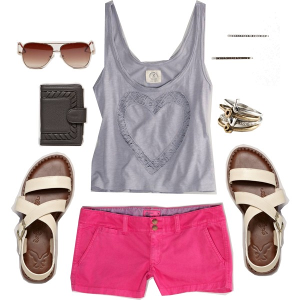 r-pink-magenta-shorts-grayl-top-tank-white-shoe-sandals-sun-ring-beach-howtowear-fashion-style-outfit-spring-summer-weekend.jpg