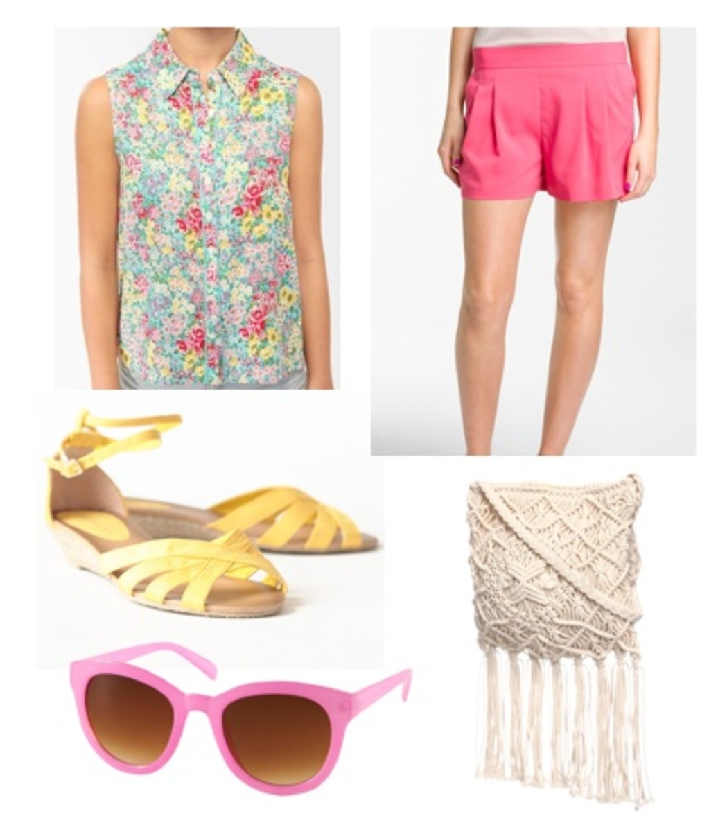 r-pink-magenta-shorts-pink-light-top-floral-print-yellow-shoe-sandals-white-bag-sun-travel-howtowear-fashion-style-spring-summer-outfit-weekend.jpg