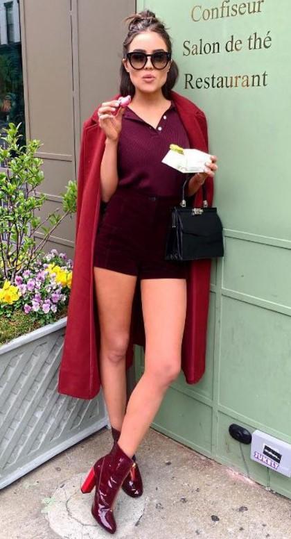 burgundy-shorts-red-jacket-coat-hairr-sun-oliviaculpo-burgundy-shoe-booties-black-bag-burgundy-top-mono-fall-winter-lunch.jpg