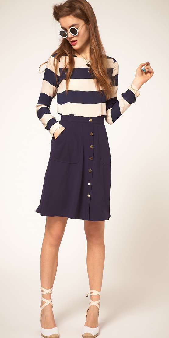 blue-navy-aline-skirt-blue-navy-top-sun-white-shoe-sandalw-wear-style-fashion-spring-summer-stripe-espadrilles-button-hairr-lunch.jpg