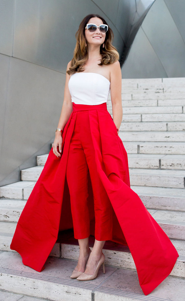 white-top-bustier-tubetop-hairr-sun-tan-shoe-pumps-pantscombo-red-maxi-skirt-spring-summer-dinner.jpg