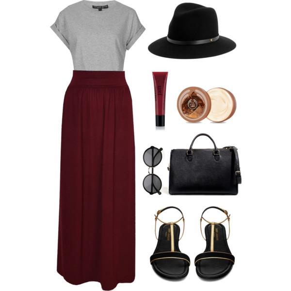 grayl-tee-hat-black-bag-black-shoe-sandals-sun-burgundy-maxi-skirt-spring-summer-weekend.jpg
