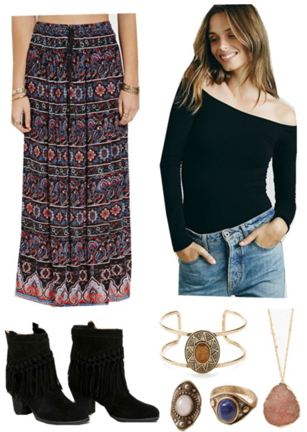 r-burgundy-maxi-skirt-black-top-ring-pend-necklace-bracelet-howtowear-fashion-style-outfit-fall-winter-print-offshoulder-black-shoe-booties-boho-hairr-lunch.jpg