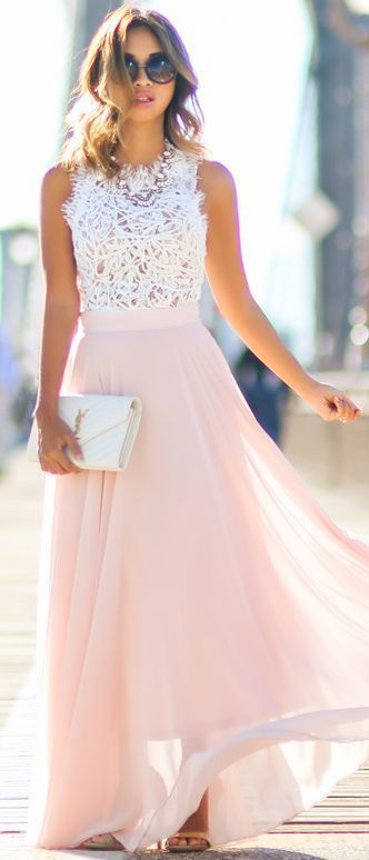 r-pink-light-maxi-skirt-white-top-lace-bib-necklace-white-bag-tan-shoe-sandalh-howtowear-fashion-style-outfit-spring-summer-hairr-dinner.jpg