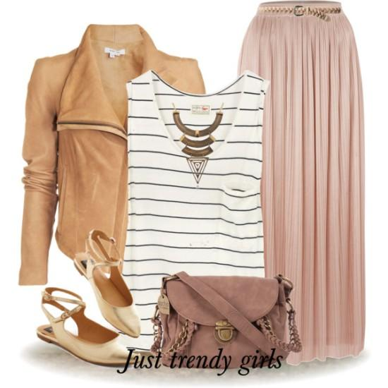 pink-light-maxi-skirt-white-top-tank-stripe-tan-jacket-moto-tan-shoe-flats-pink-bag-necklace-fall-winter-weekend.jpg