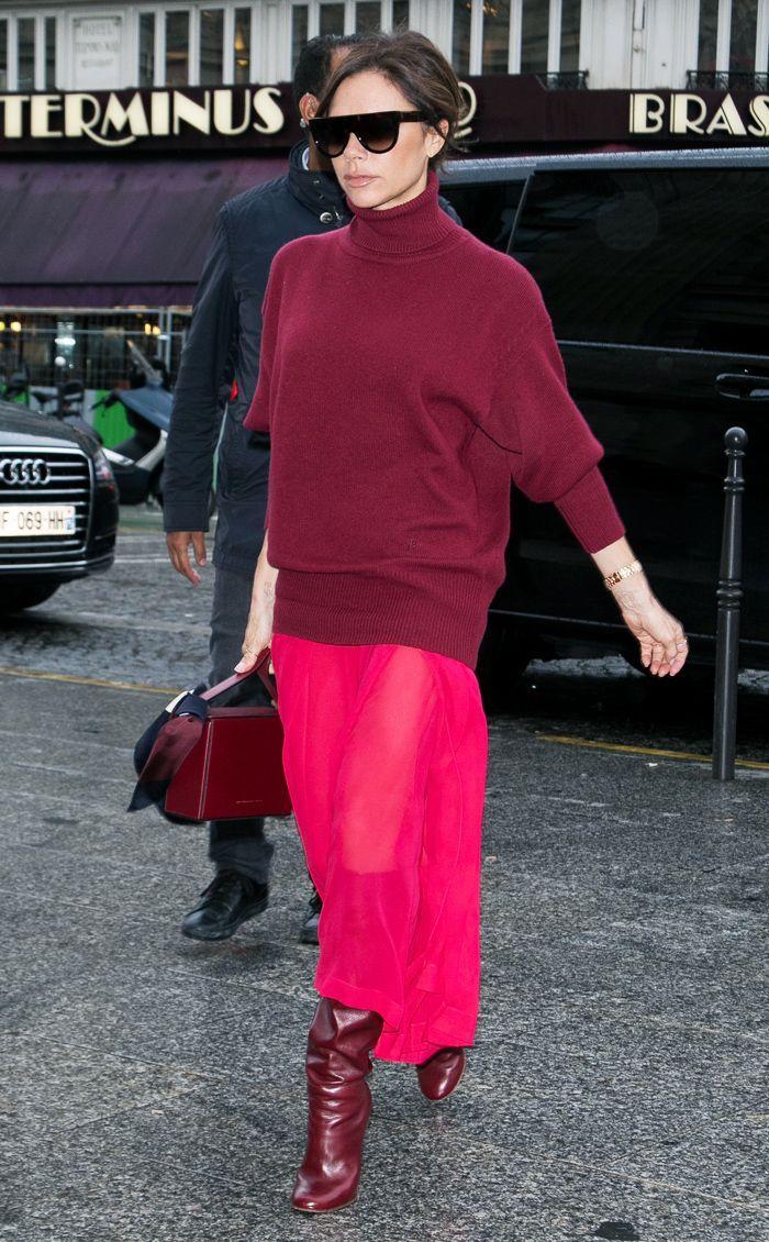 victoriabeckham-brun-sun-bun-burgundy-sweater-turtleneck-burgundy-bag-tonal-burgundy-shoe-boots-pink-magenta-maxi-skirt-fall-winter-work.jpg