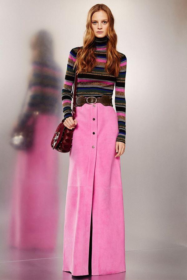 blue-navy-sweater-turtleneck-stripe-hairr-burgundy-bag-wide-belt-pink-magenta-maxi-skirt-fall-winter-lunch.jpg