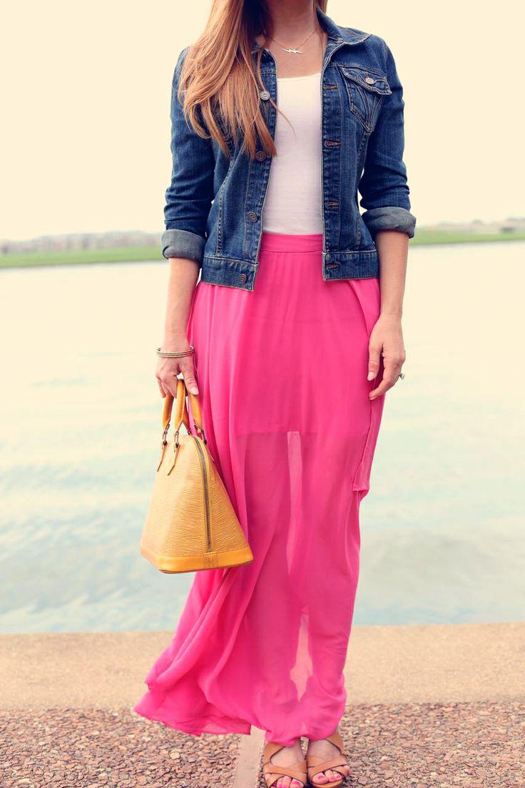 blue-med-jacket-jean-yellow-bag-cognac-shoe-sandalh-hairr-pink-magenta-maxi-skirt-spring-summer-lunch.jpg
