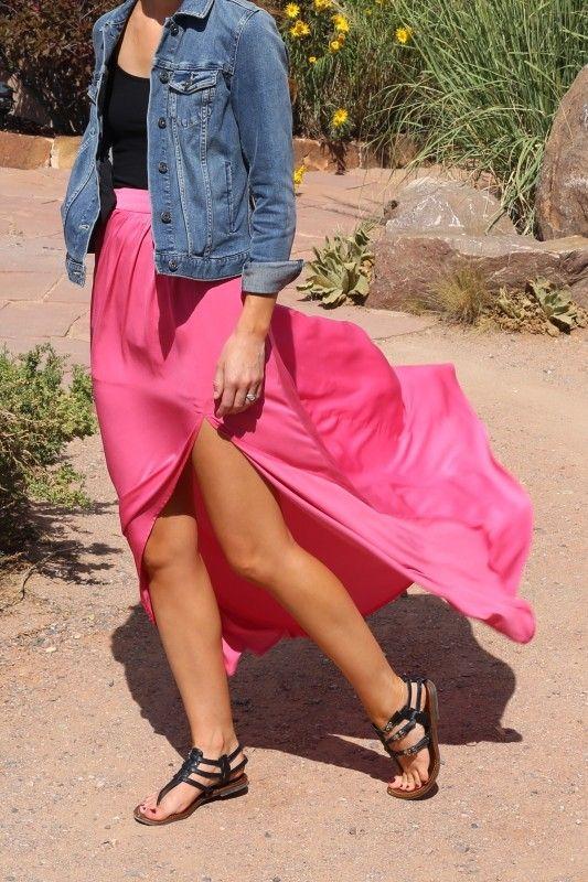 blue-med-jacket-jean-black-tank-black-shoe-sandals-pink-magenta-maxi-skirt-spring-summer-weekend.jpg