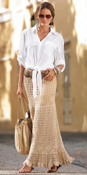 white-collared-shirt-belt-crochet-bun-hairr-tan-bag-sun-tan-maxi-skirt-spring-summer-lunch.jpg