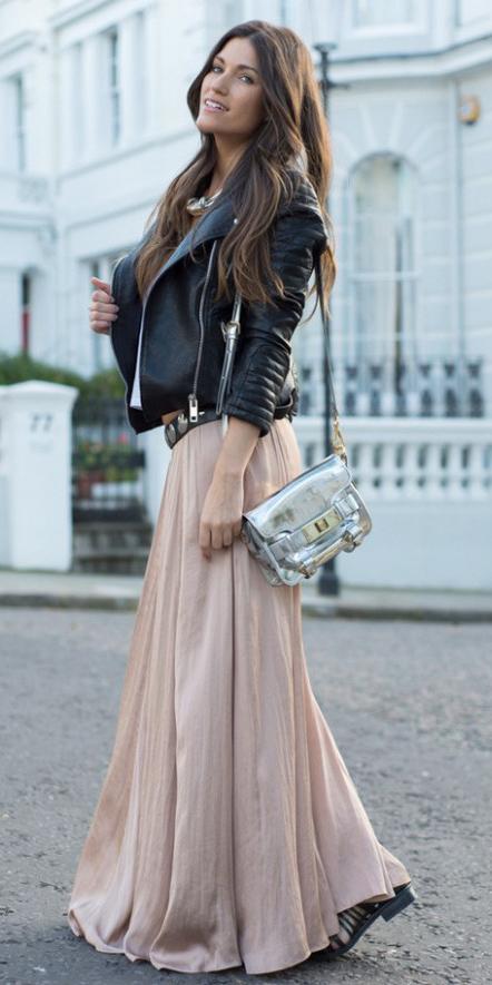 gray-bag-metallic-silver-brun-black-jacket-moto-tan-maxi-skirt-fall-winter-lunch.jpg