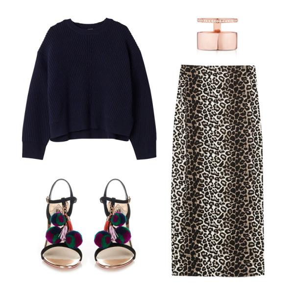 black-sweater-leopard-print-black-shoe-sandalh-pompoms-tan-maxi-skirt-fall-winter-lunch.jpg