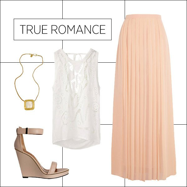 white-top-lace-necklace-tan-shoe-sandalw-pleat-peach-maxi-skirt-spring-summer-lunch.jpg