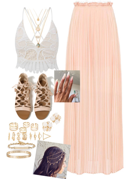 o-peach-maxi-skirt-white-top-crop-halter-tan-shoe-sandals-nail-necklace-ring-festival-howtowear-fashion-style-outfit-spring-summer-weekend.jpg