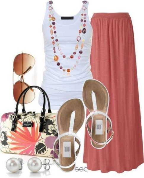 o-peach-maxi-skirt-white-top-tank-necklace-white-shoe-sandals-sun-pearl-studs-howtowear-fashion-style-outfit-spring-summer-weekend.jpg