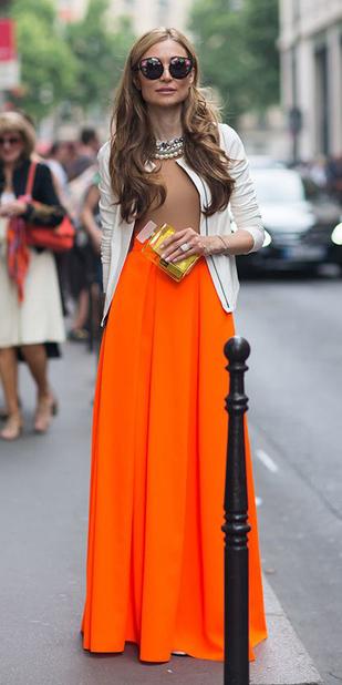 white-cardigan-sun-hairr-pearl-necklace-orange-maxi-skirt-spring-summer-dinner.jpg