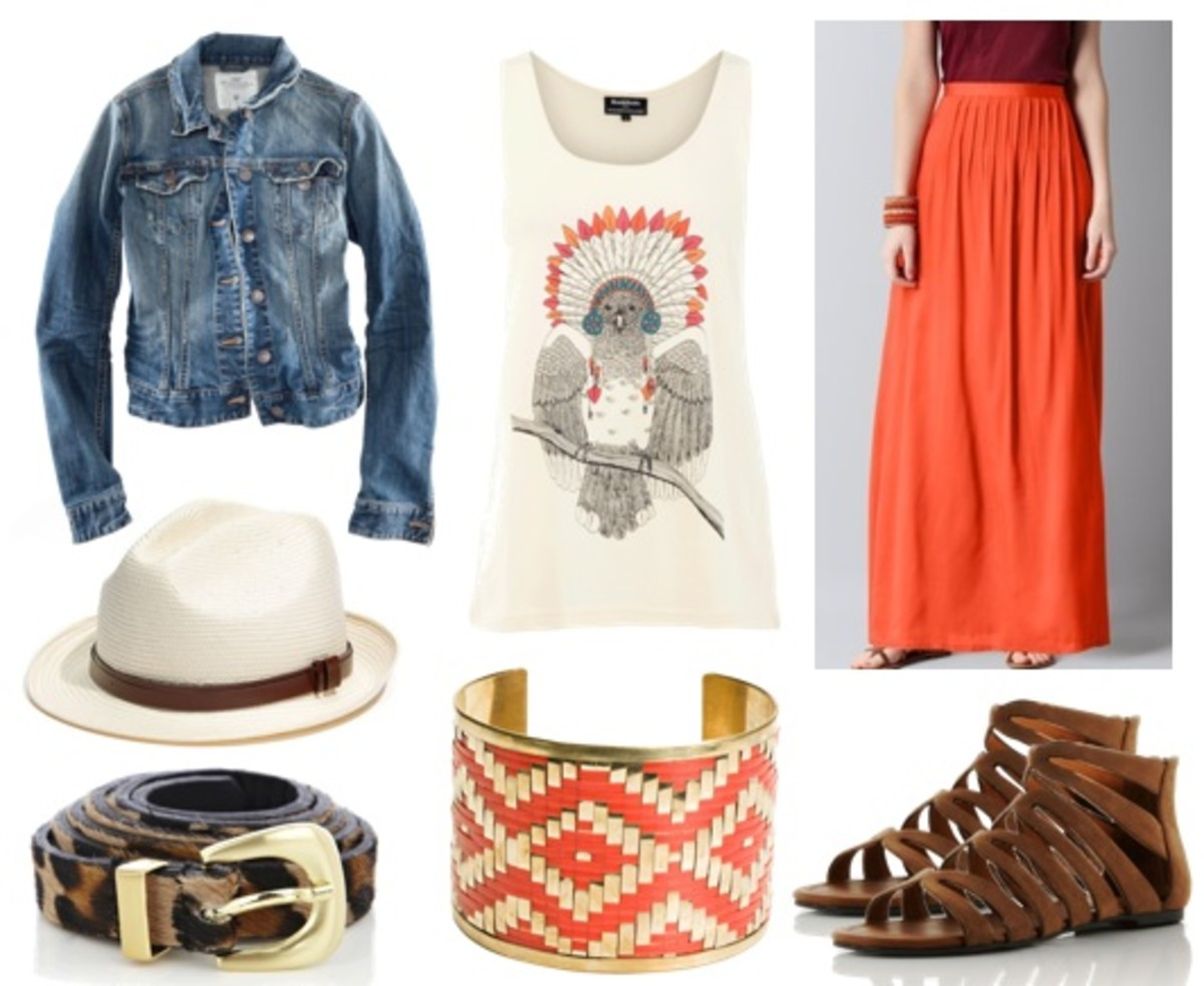 white-graphic-tee-blue-med-jacket-jean-bracelet-hat-panama-belt-leopard-print-cognac-shoe-sandals-orange-maxi-skirt-spring-summer-weekend.jpg