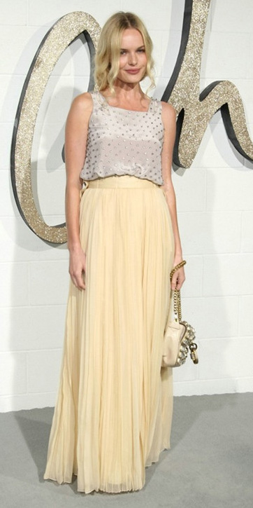 white-top-katebosworth-tonal-bun-white-bag-yellow-maxi-skirt-spring-summer-dinner.jpg