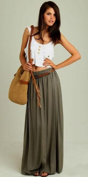 green-olive-maxi-skirt-white-top-crop-belt-tan-bag-straw-cognac-shoe-sandals-howtowear-fashion-style-outfit-spring-summer-brun-weekend.jpg