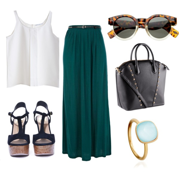 white-crop-top-sun-black-bag-ring-black-shoe-sandalh-green-dark-maxi-skirt-spring-summer-lunch.jpg