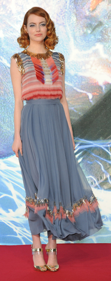 blue-med-maxi-skirt-peach-top-tan-shoe-sandalh-emmastone-spring-summer-hairr-dinner.jpg