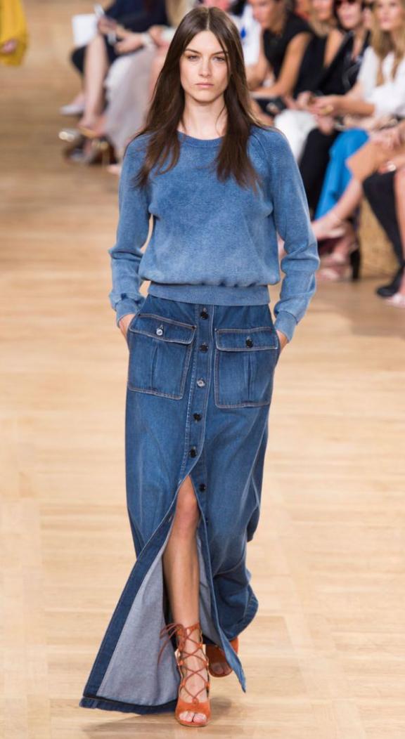 blue-med-maxi-skirt-blue-med-sweater-sweatshirt-wear-style-fashion-spring-summer-jean-denim-orange-shoe-sandalh-hairr-lunch.jpg