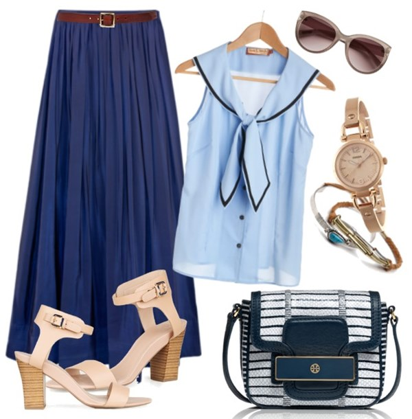 blue-light-top-blouse-nautical-sailor-blue-bag-watch-sun-tan-shoe-sandalh-blue-navy-maxi-skirt-spring-summer-lunch.jpg