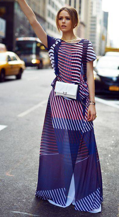 blue-navy-maxi-skirt-blonde-white-bag-fannypack-spring-summer-lunch.jpg