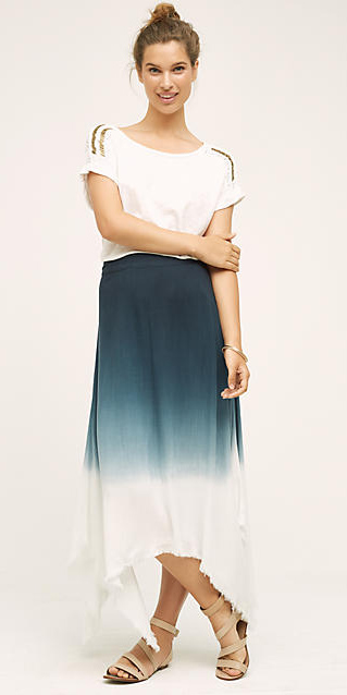 blue-navy-maxi-skirt-white-top-bun-wear-style-fashion-spring-summer-tan-shoe-sandals-ombre-hairr-weekend.jpg
