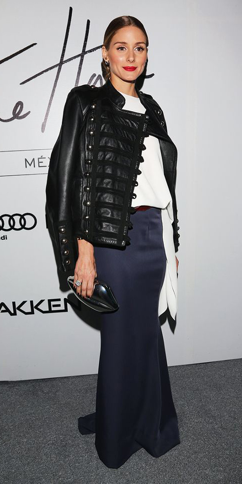 blue-navy-maxi-skirt-white-top-blouse-bun-oliviapalermo-black-jacket-moto-fall-winter-hairr-dinner.jpg