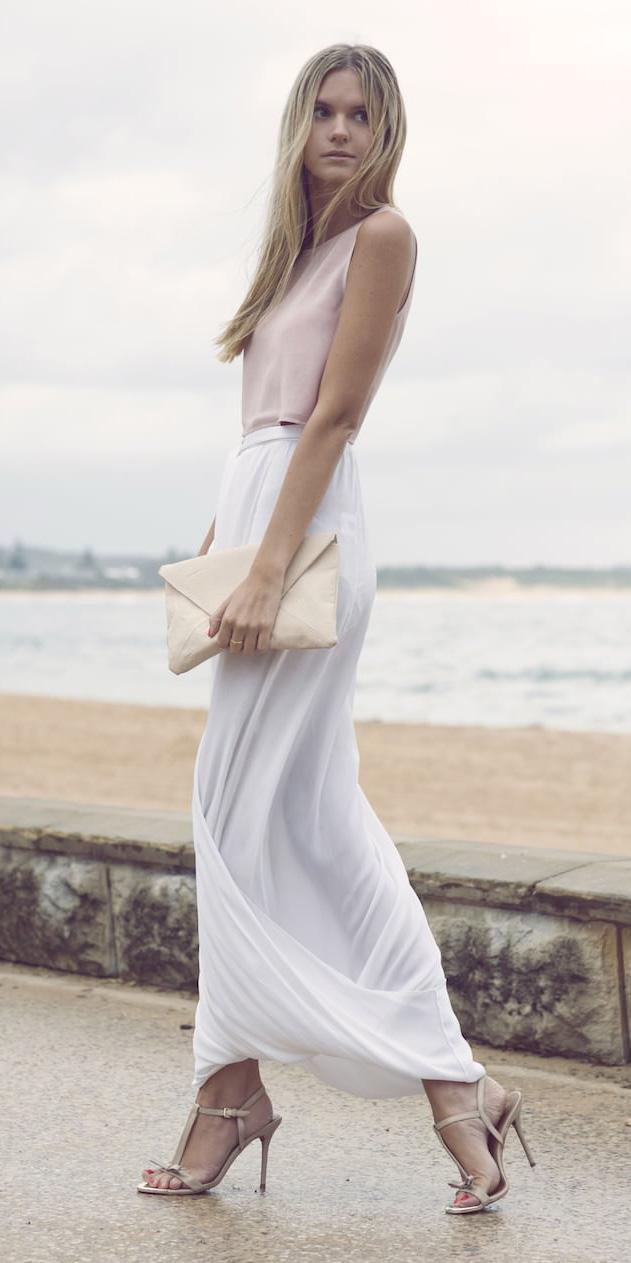pink-light-top-tonal-white-bag-clutch-blonde-tan-shoe-sandalh-white-maxi-skirt-spring-summer-dinner.jpg