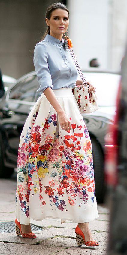 blue-light-top-blouse-white-bag-floral-print-pony-hairr-orange-shoe-sandalw-white-maxi-skirt-spring-summer-lunch.jpg