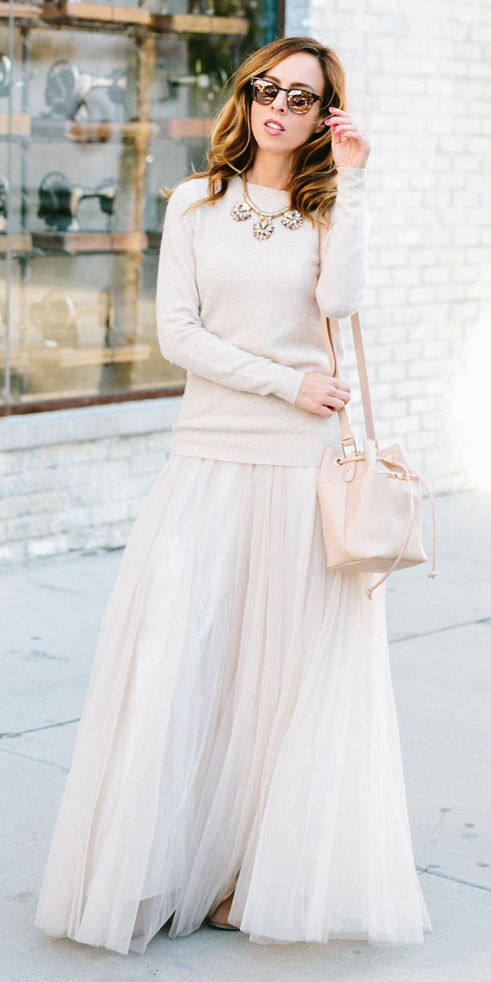 white-sweater-white-bag-mono-necklace-bib-hairr-sun-white-maxi-skirt-fall-winter-lunch.jpg