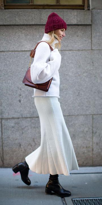 white-maxi-skirt-white-sweater-turtleneck-cognac-bag-black-shoe-boots-beanie-fall-winter-blonde-lunch.jpg