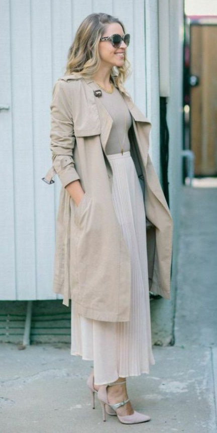 tan-tee-sun-blonde-mono-pink-shoe-pumps-tan-jacket-coat-trench-white-maxi-skirt-spring-summer-lunch.jpg