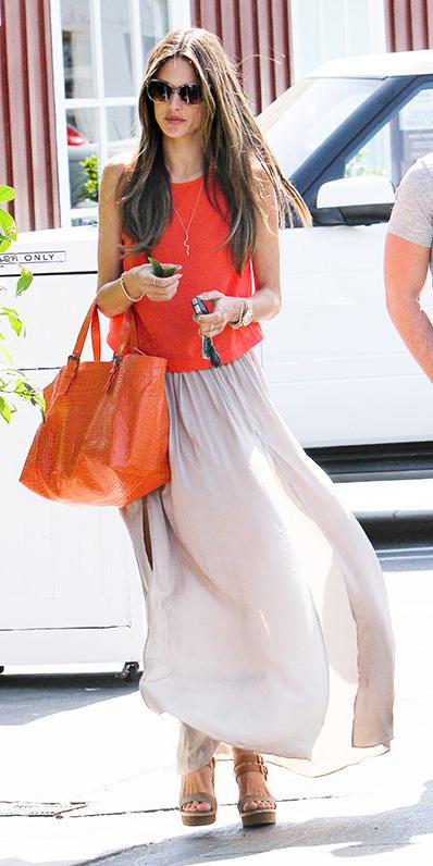 orange-tee-orange-bag-tote-brun-sun-cognac-shoe-sandalh-grayl-maxi-skirt-spring-summer-lunch.jpg