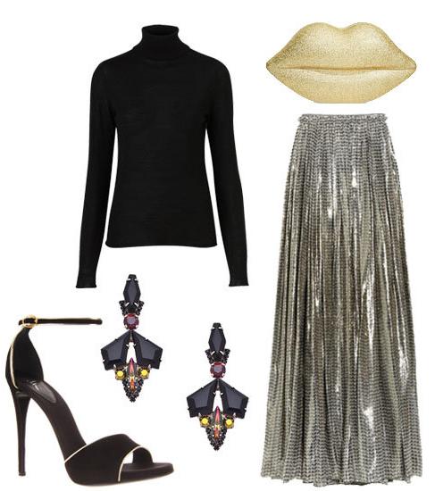 grayl-maxi-skirt-black-sweater-howtowear-fashion-style-outfit-fall-winter-turtleneck-basic-tan-bag-clutch-metallic-pleated-silver-black-shoe-sandalh-jewel-earrings-dinner.jpg