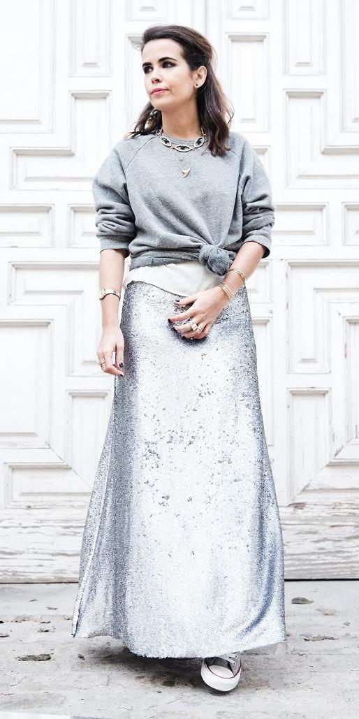 grayl-sweater-sweatshirt-brun-necklace-mono-sequin-grayl-maxi-skirt-fall-winter-lunch.jpg