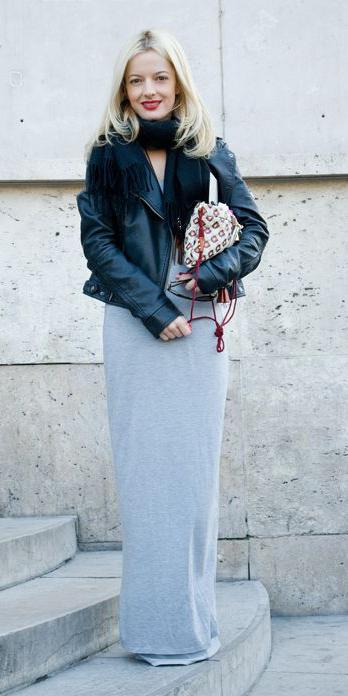 black-scarf-blonde-black-jacket-moto-white-bag-grayl-maxi-skirt-fall-winter-lunch.jpg