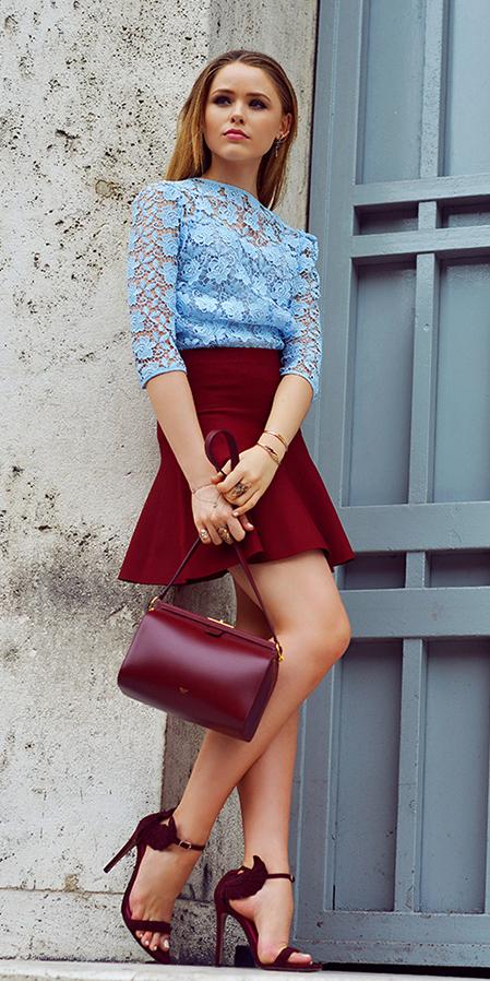 red-mini-skirt-blue-light-top-lace-red-bag-burgundy-shoe-sandalh-spring-summer-blonde-dinner.jpg