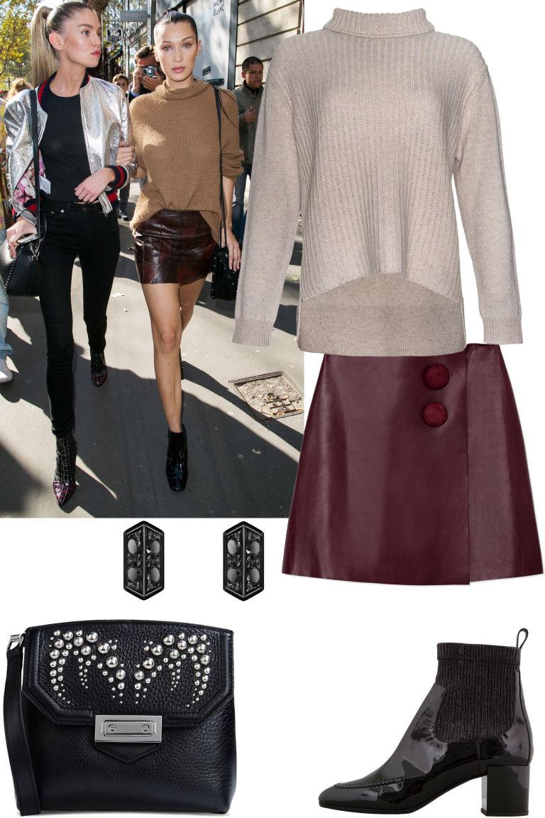 r-burgundy-mini-skirt-o-tan-sweater-wear-style-fashion-fall-winter-black-bag-turtleneck-black-shoe-booties-lunch.jpg