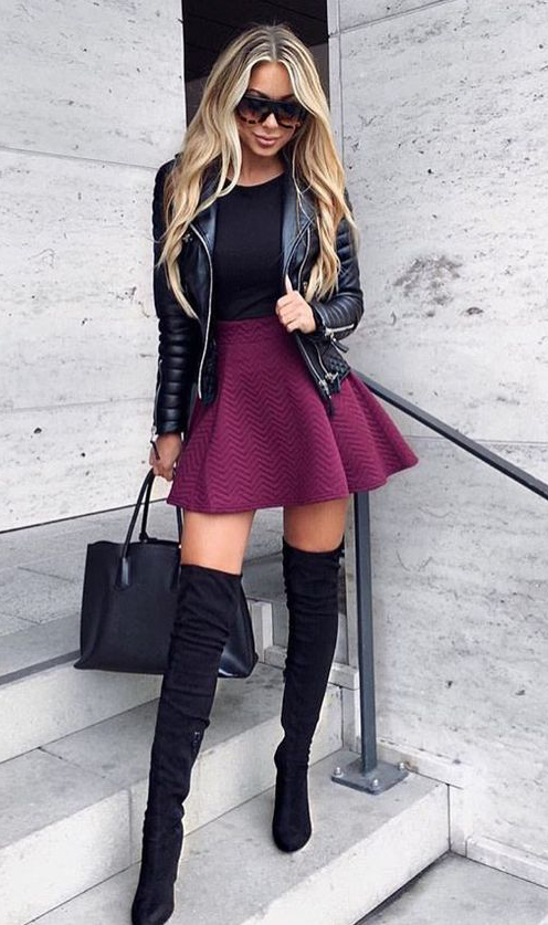r-burgundy-mini-skirt-black-tee-black-jacket-moto-black-bag-black-shoe-boots-sun-skater-howtowear-fashion-style-outfit-fall-winter-blonde-dinner.jpg