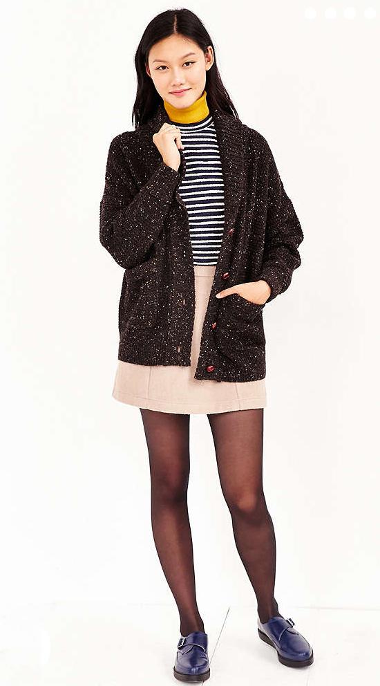 o-tan-mini-skirt-black-sweater-stripe-wear-style-fashion-fall-winter-black-cardiganl-coatigan-blue-shoe-brogues-black-tights-brun-lunch.jpg