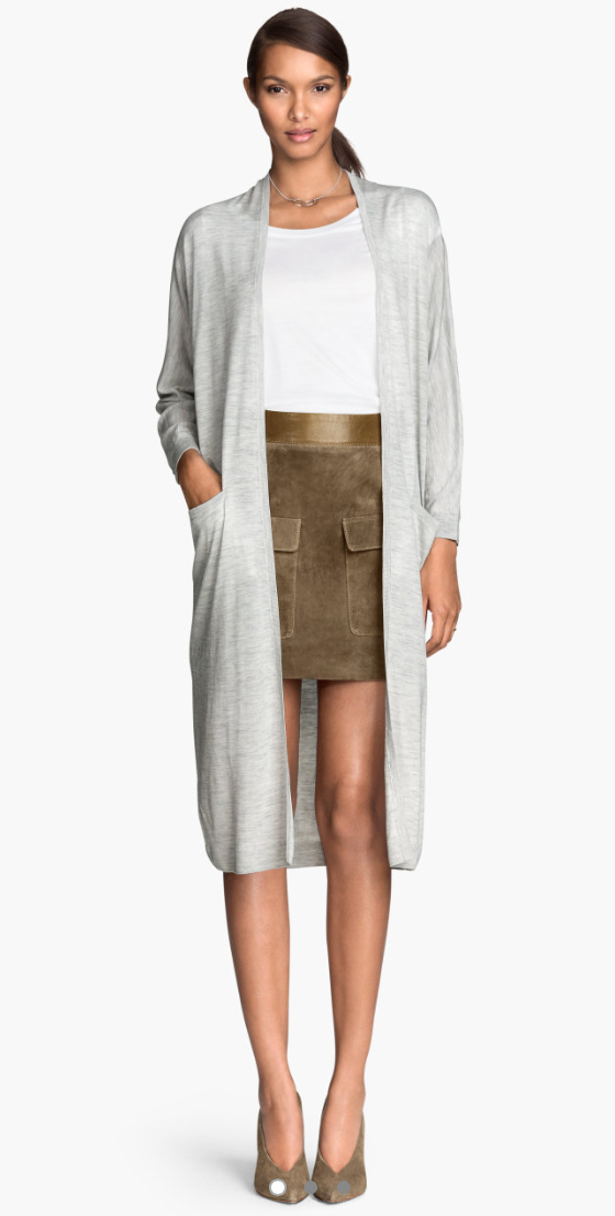 o-tan-mini-skirt-white-tee-grayl-cardiganl-duster-necklace-pony-tan-shoe-pumps-brun-howtowear-fashion-style-outfit-fall-winter-lunch.jpg